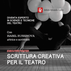 master scrittura creativa teatro