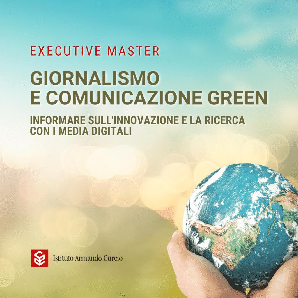 master Giornalismo Green